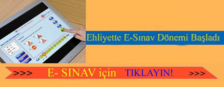 Uzaktan Sınav Online Ehliyet Sınavları Yeni Sistem Deneme Sınavı